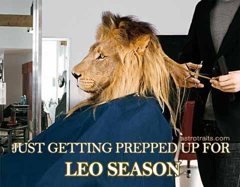 Leo Season Memes Getting Prepped Up for #leoseason