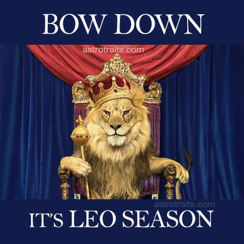 Bow Down It Is Leo Season