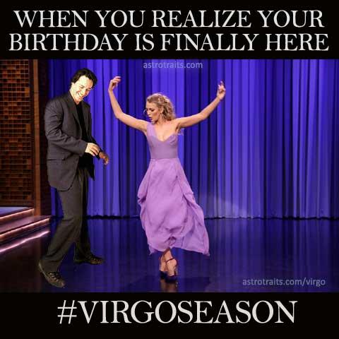 virgo birthday meme