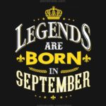 virgo meme - legends are born in september