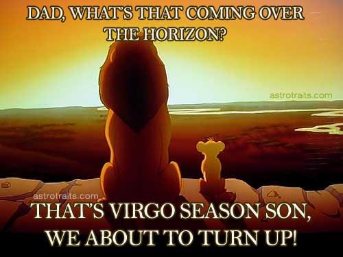 Whats that Virgo Season Lion King Horizon