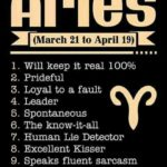 Aries Top 10 Qualities