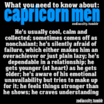capricorn men what you need to know