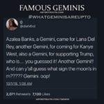 gemini meme - famous geminis tweet