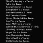 Famous Taurus