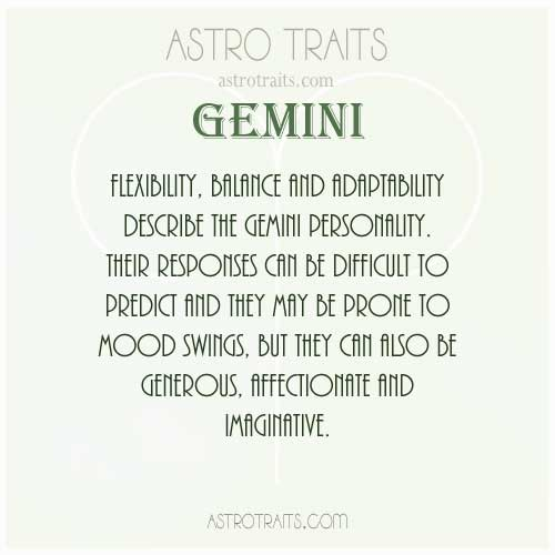 Gemini -The Twins ♊ : Everything About GEMINI Zodiac Sign