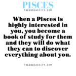 when pisces interested