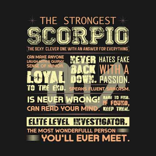 Scorpio - The Scorpion ♏ : Everything About SCORPIO Zodiac Sign
