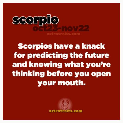 Scorpio - The Scorpion ♏ : Everything About SCORPIO Zodiac Sign