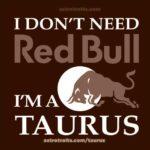 Taurus Red Bull Meme