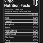 Virgo Nutrition Facts