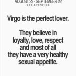 Virgo perfect lover