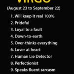 Virgo Top 10 Traits