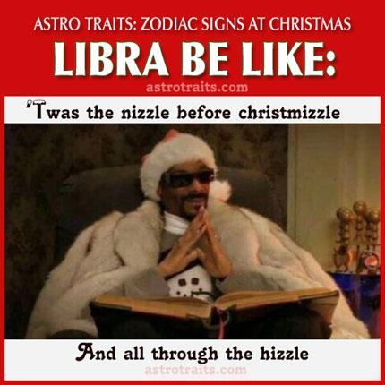 christmas meme zodiac sign libra
