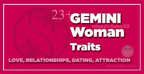 gemini female traits